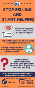 Stop selling and start helping with these tips from BDU!
