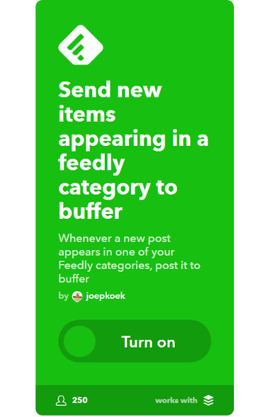 "Feedly Applet for Buffer ""width ="" 389 ""height ="" 600 ""/> </p data-recalc-dims="