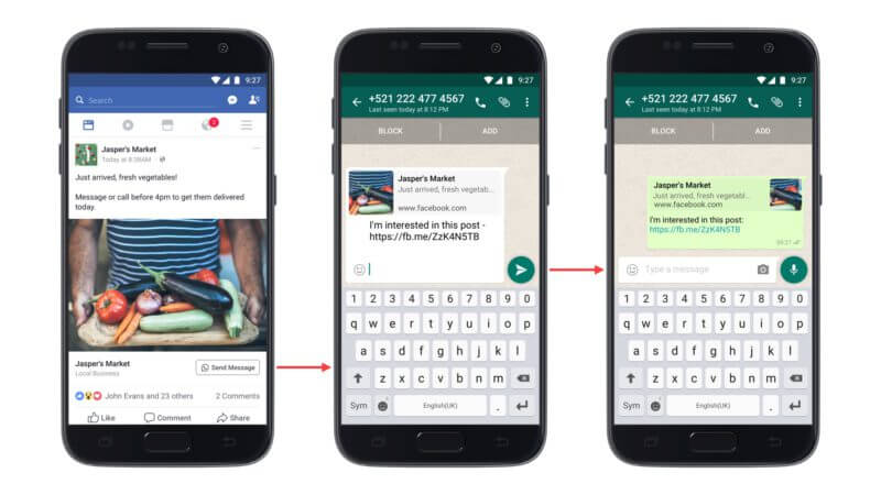 facebook ads can now be linked to brands whatsapp accounts - Facebook ads can now be linked to brands WhatsApp accounts