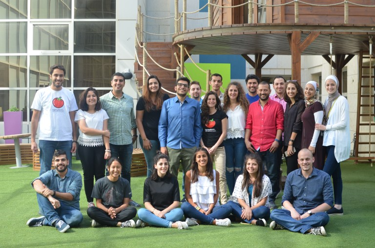 tamatem team photo - 500 Tamata supported by startups raise $ 2.5M to locate games for the Arabic-speaking market