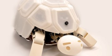 this turtle shows children that the abuse of robots is bad - This turtle shows children that the abuse of robots is bad