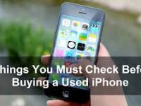5 Things to Consider When Buying a Second Hand iPhone - 5 Things to Consider When Buying a Second Hand iPhone?