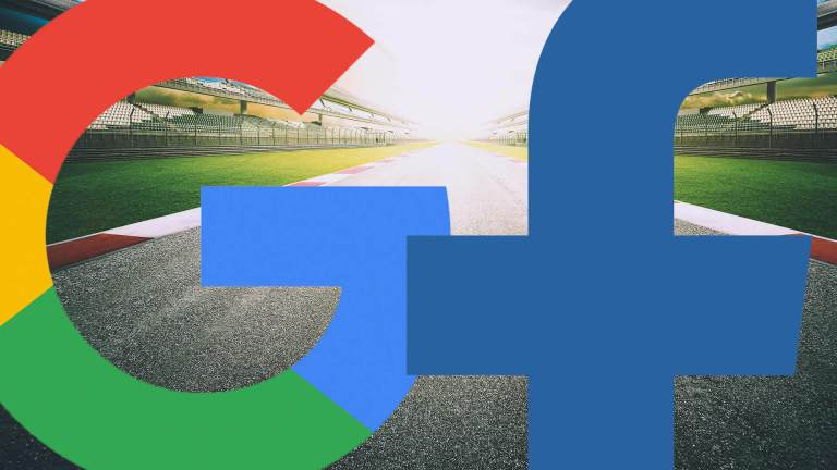 google facebook race speed ss 1920 - Report: Google and Facebook Announce List of Fears That Could Have an Impact on Their Business in 2018