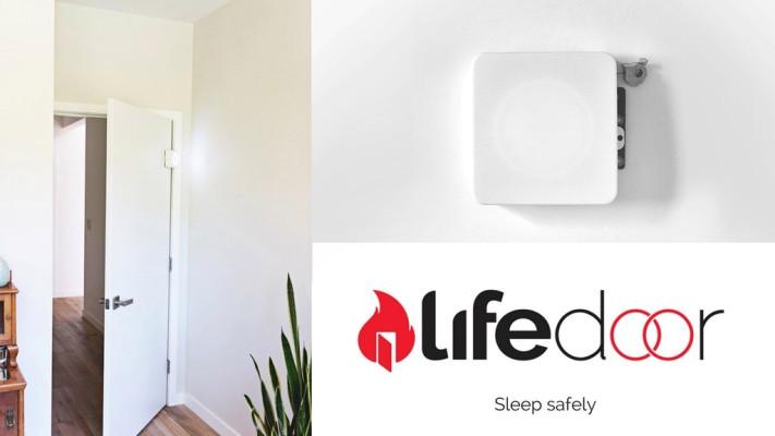 lifedoor head - LifeDoor funds the production version of its fire door closers
