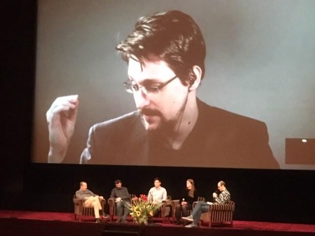 Edward Snowden by Skype at IDFA 2019