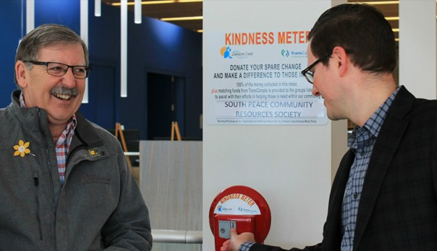 Dawson Creek Launches 'Kindness Meter' (Business Digest Copy)