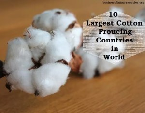 cotton producing countries
