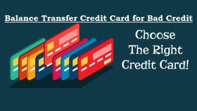 Balance Transfer Credit Cards For Bad Credit
