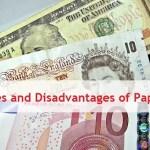 advantages of paper money
