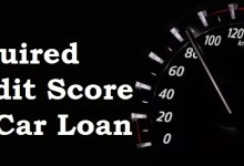 credit score required for car loan