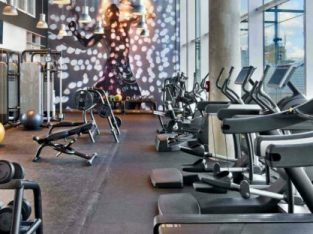Gym fully equipped and operational for Sale in Abu Dhabi
