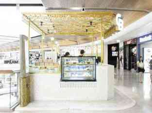 Cakes and sweets kiosk for sale in Dalma Mall Abu Dhabi