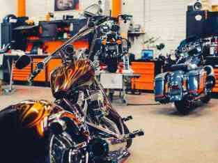 Centro de reparación de motocicletas en Dubai