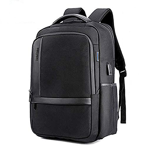 AH Arctic Hunter Slim Laptop Backpack Fit 15.6 Inch Business Travel Bag with Luggage Strap, Water Resistant Backpack for Men & Woman