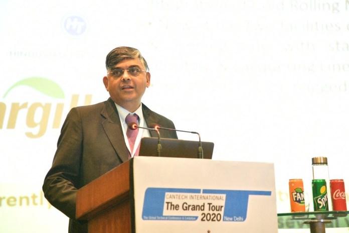 RN Murthy, Chairman, Indian Tinplate Manufacturers Association