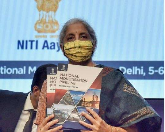 National Monetisation Pipeline, NMP Nirmala sitharaman, NMP 2021, NMP Launched, Nirmala sitharaman l