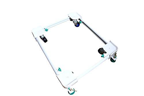 KS Home Kitchen APPLIANCES Heavy Duty Adjustable & MOTILE Front Load Washing Machine Metallic Stand/Trolley(Mini. DIM -16/19 inch MAX. DIM - 26/32 inches) for IFB Elena Aqua SX 6Kg l 1000RPM (LDT)