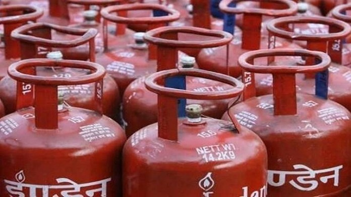 Existing customers can book LPG refill by giving a missed