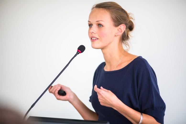 woman speaker image