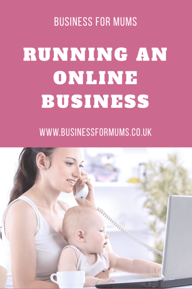 Running an online business
