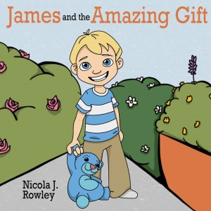 James and the amazing gift cover