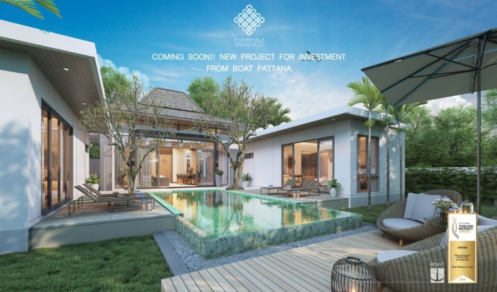Boat Pattana's Cherng Talay villa project reports strong pre-sales