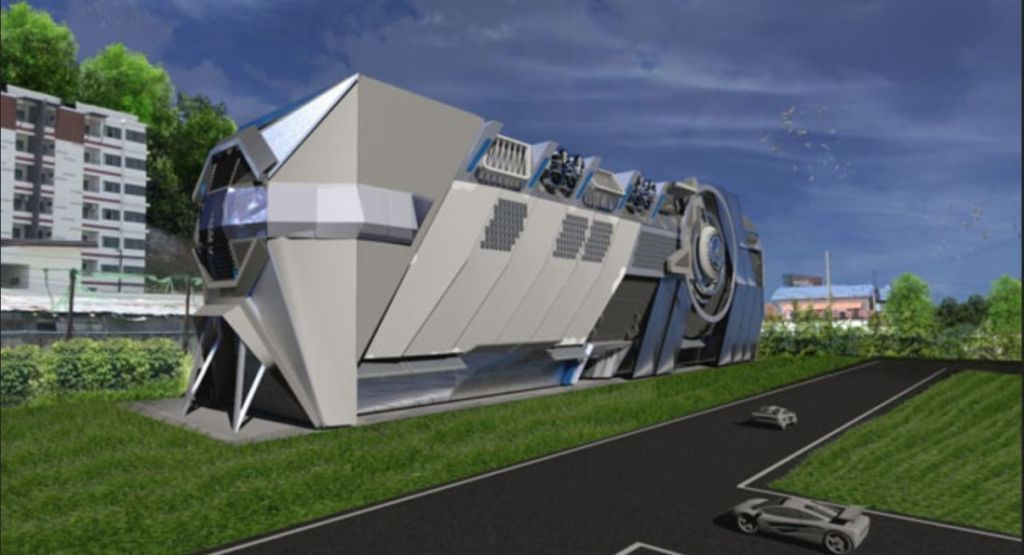 Beam me up Phuket – new space theme hotel for the island
