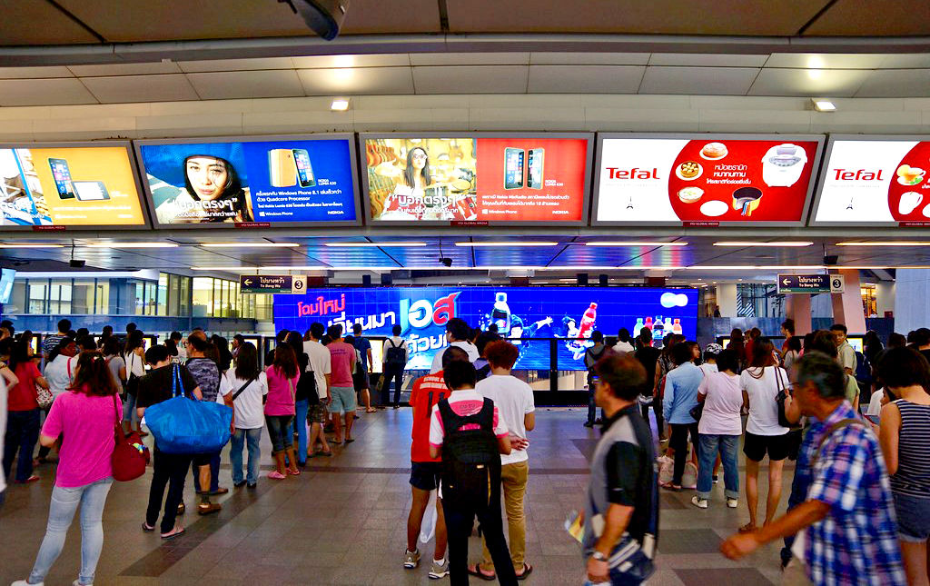 Thai advertisers deserting Print, but love Cinema and Transit ads