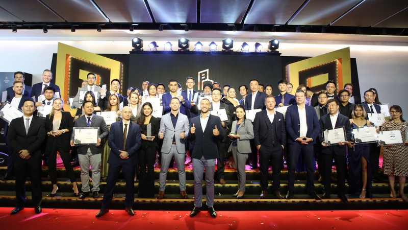 Top developers lead the outstanding winners at Dot Property Thailand Awards 2019