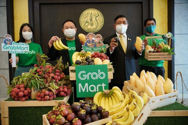 Grab teams up with farmers for fresh fruit delivery service