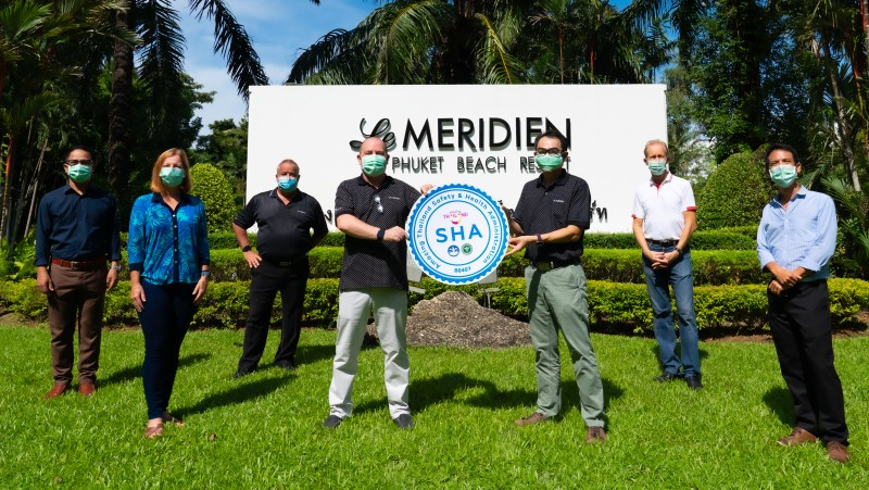 Le Meridien Phuket Beach Resort awarded 'SHA' certification