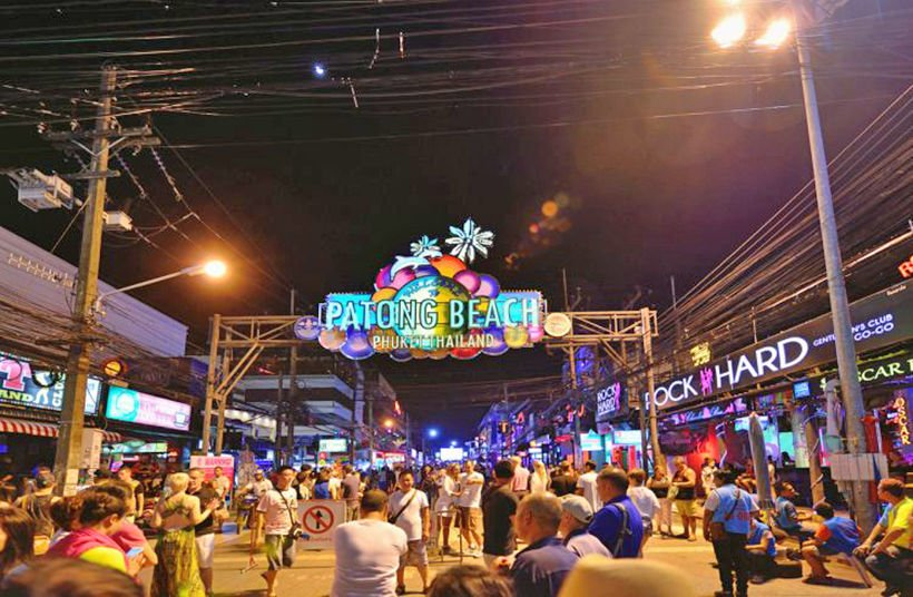 "Phuket's (in)famous ""Soi Bangla"" district reopens today"