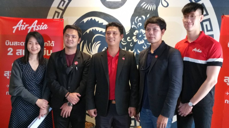 AirAsia launches Phuket-Suvarnabhumi flights