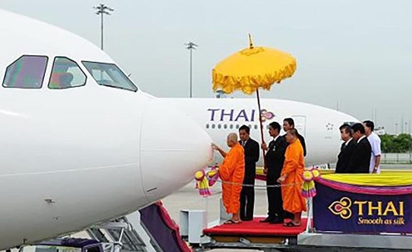 Thai Airways to launch one-off flight over sacred Buddhist sites