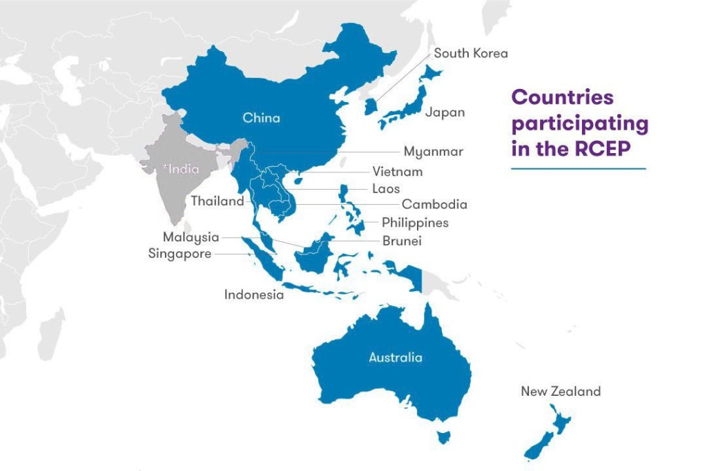 15 Asia-Pacific countries form the world's largest trade bloc, the great RCEP reset