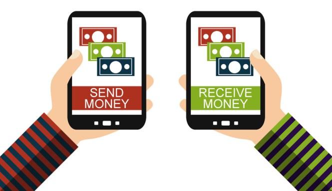 Geld senden und empfangen mit dem Smartphone