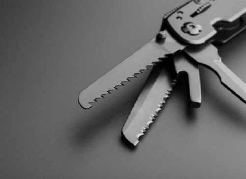 Carry Blue Pocket Knife