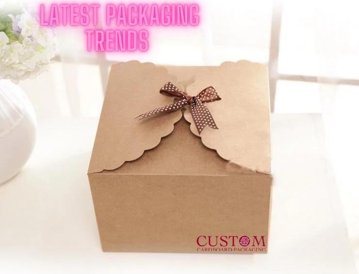 latest custom kraft boxes packaging trends