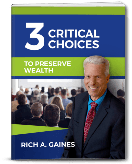 Action Guide 3 3d image - Action Guide #3: The 3 Critical Choices You Need to Make in Order to Preserve Wealth