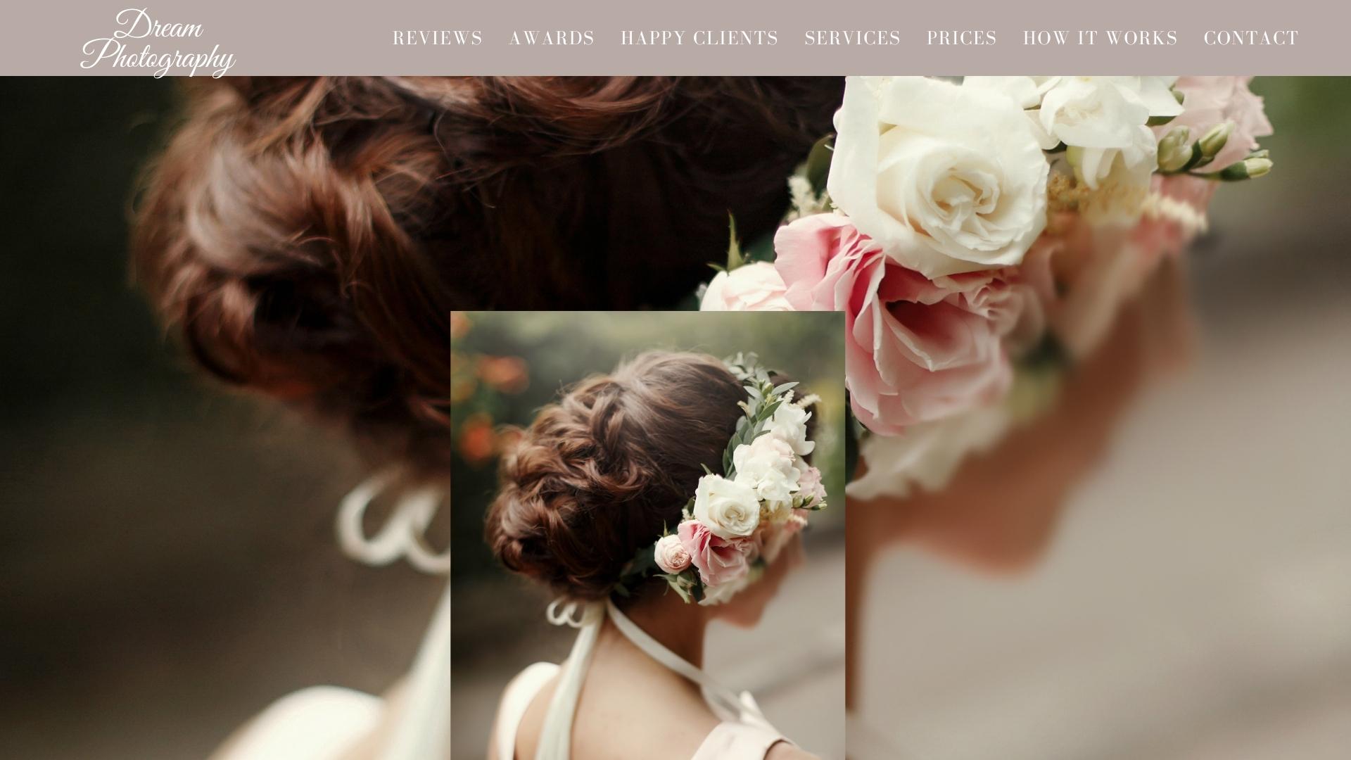 Dream Photography website
