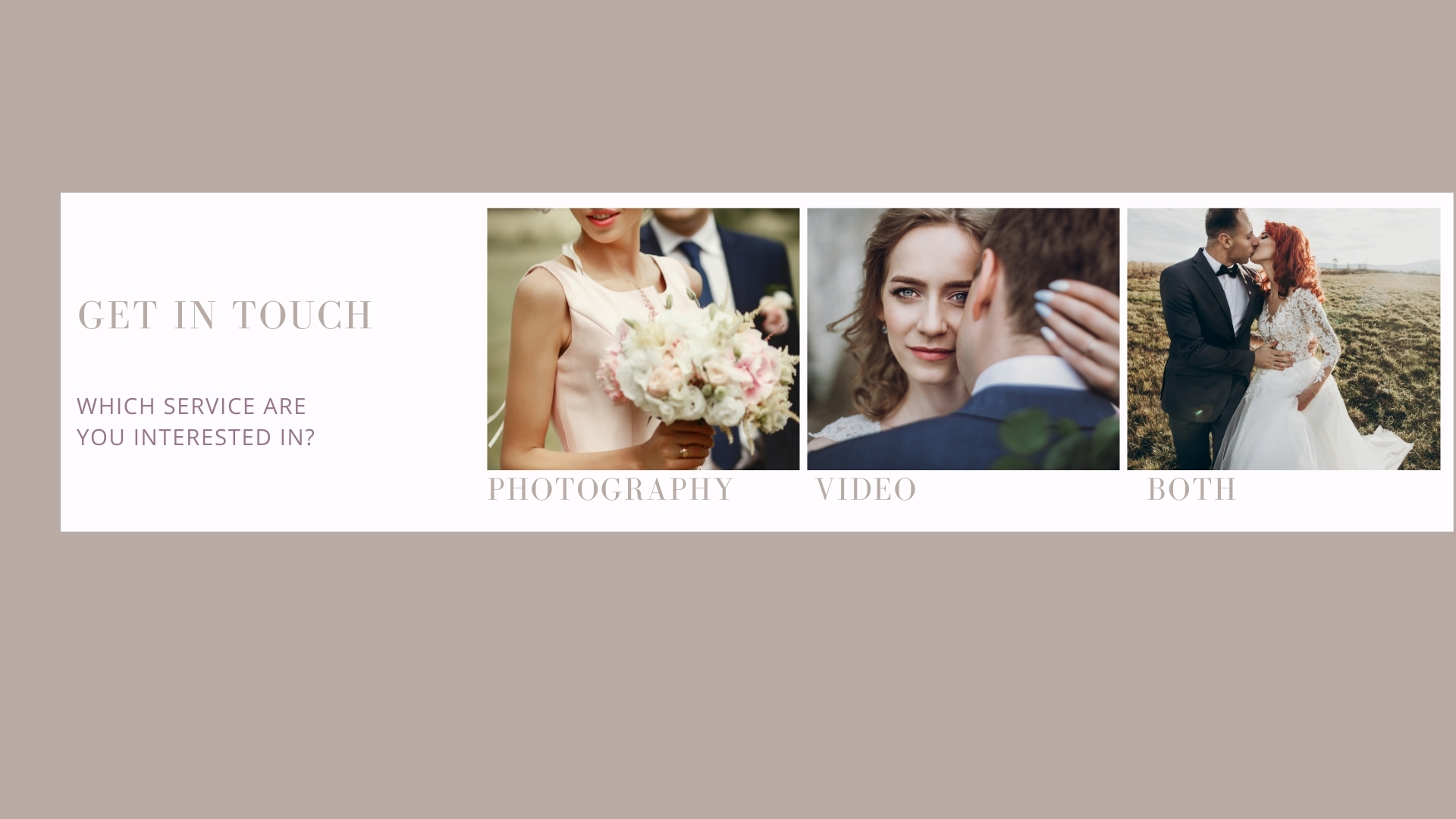 Wedding Photographer website Dubbo