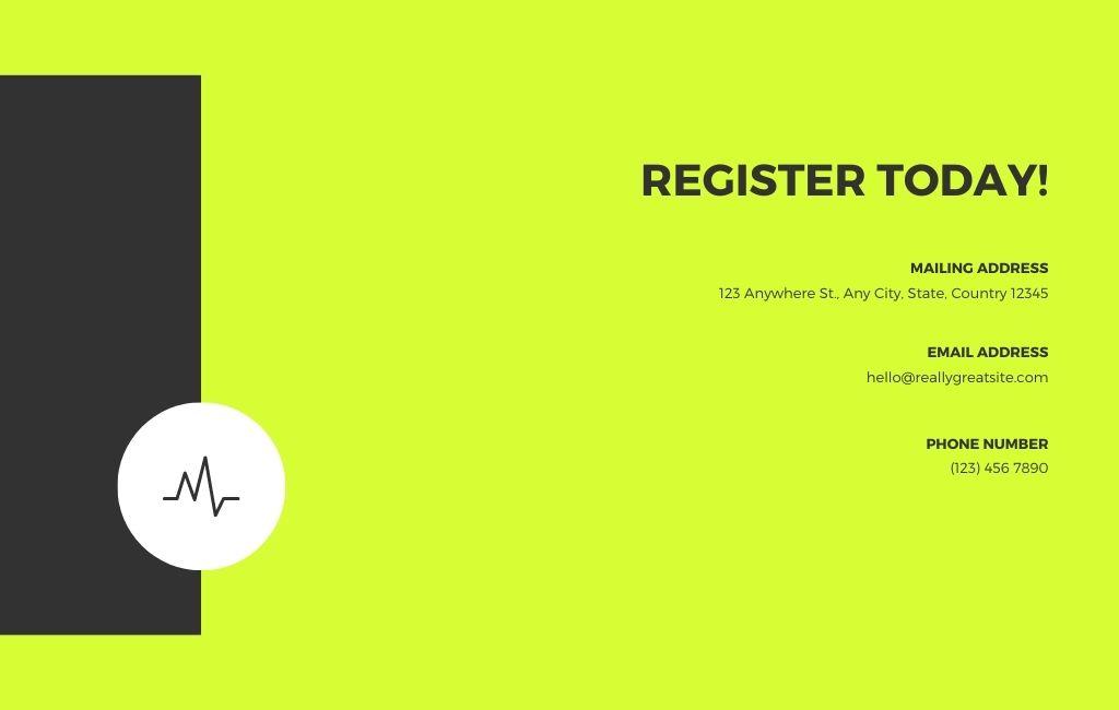 Running Event Website 5