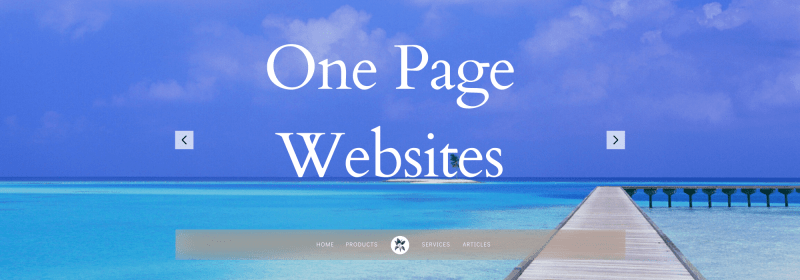 Benefits of a One Page Website Blog