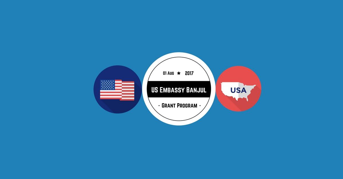 U.S. Embassy The Gambia $25,000 Grants Program