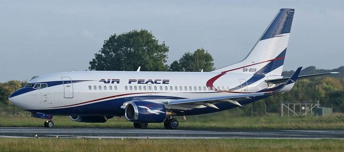Air Peace Airline Starts Flight to Banjul The Gambia 15 Dec