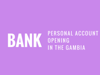 how to open personal bank account in gambia