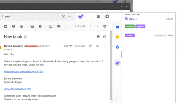 How to Track Gmail Outgoing Emails for Free