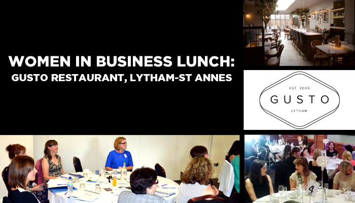 Women mean Business Lunch: Gusto Restaurant