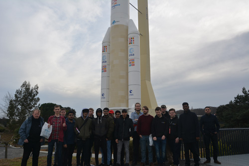 College Students Reach New Heights with France Airbus Tour