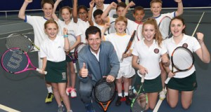 Tim Henman OBE officially opens new tennis dome facility at Stonyhurst College